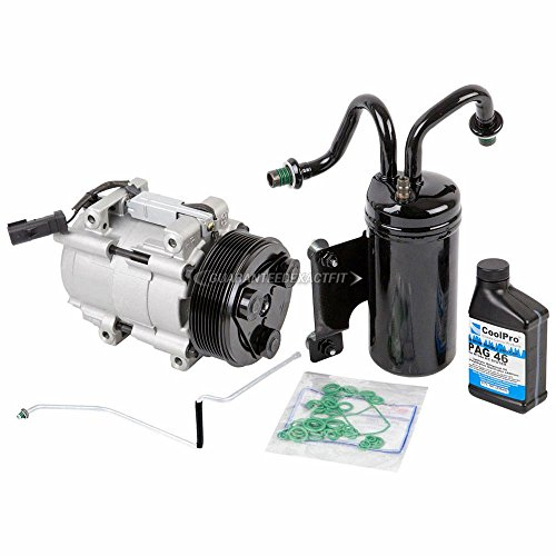 (AC Compressor w/A/C Repair Kit For Dodge Ram 2500 & 3500 2006 2007 2008 - BuyAutoParts 60-80331RK New)