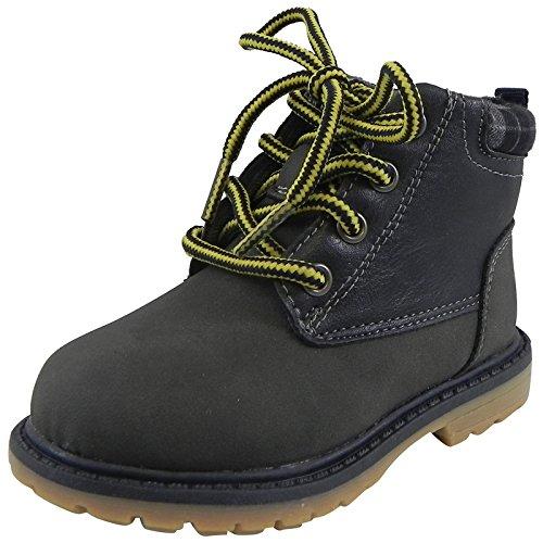 [OshKosh B'Gosh Boys' Chandler Boot, Navy, 9 M US Toddler] (Boys Boots Sale)