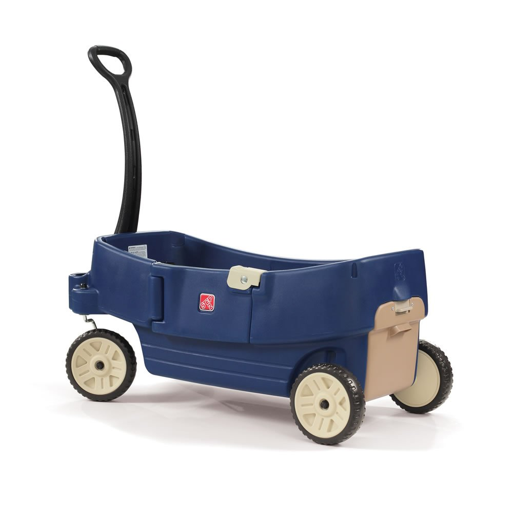 Step2 All Around Wagon Denim Ride On, Blue