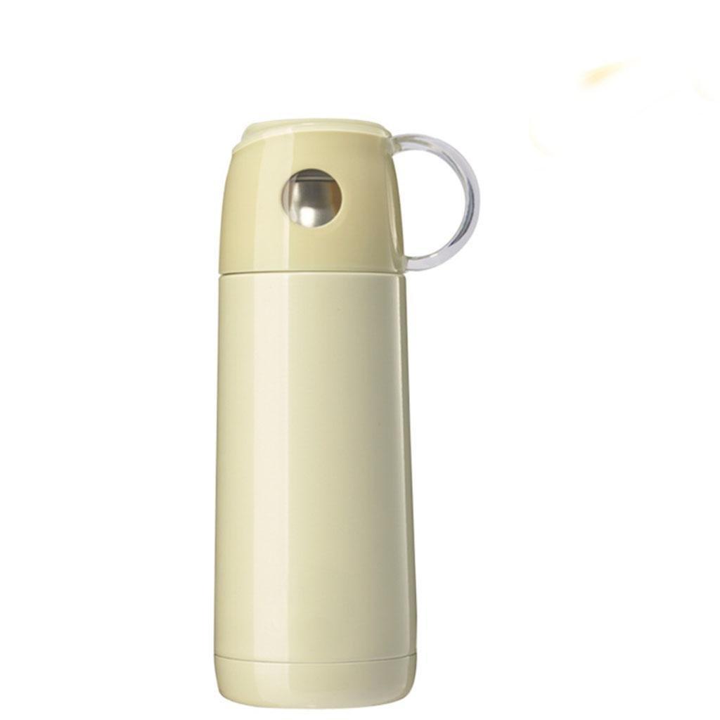 350ml Edelstahl Isolierbecher Mode Damen Edelstahl Isolierung Cup Reise wesentliche Isolierung Tasse