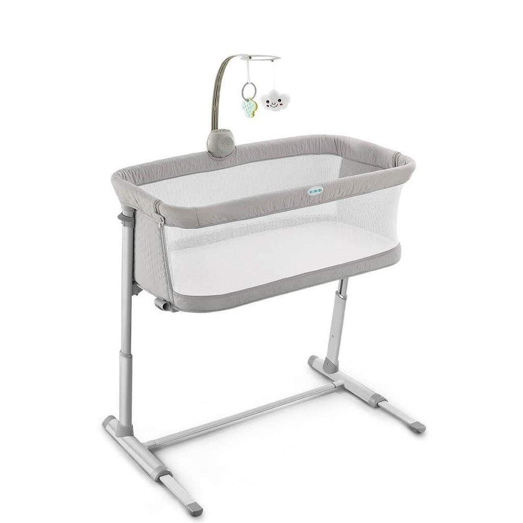 Love lamp Travel Cots Baby Care Bed Furniture Bedbell Portable Infant Travel Sleeper Cot Sleeper Breathable Folding Crib Toddler Cradle Co-Sleeping Cots