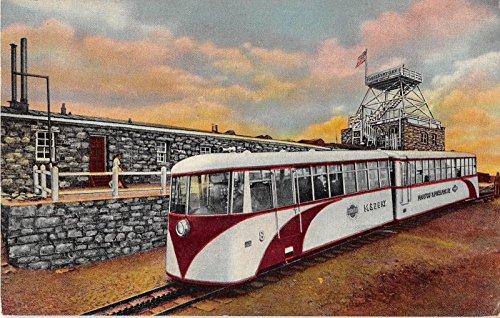 Pikes Peak Colorado Train Vintage Postcard P502 (Train Pikes)