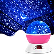 MOKOQI Projector Accessories Lamps Star Projector Night Lights for Kids with Timer, Gifts for 1-14 Year Old Gi