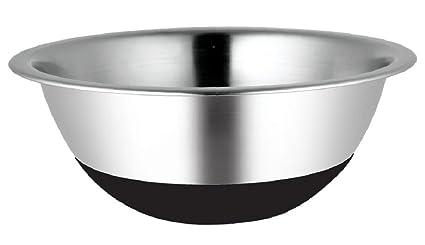 SSW Cuenco de Acero Inoxidable Bowl Antirutsch 28 cm: Amazon ...