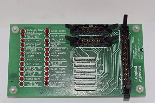 AMAT Assy 0100-0056 REV. A, Pneumatic Panel Interconnect, Controller PCB
