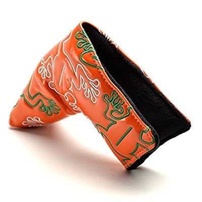 COOLSKY Frog Golf Putter Head Cover with Magnetic Closure Headcover for Scotty Cameron Odyssey Blade Style