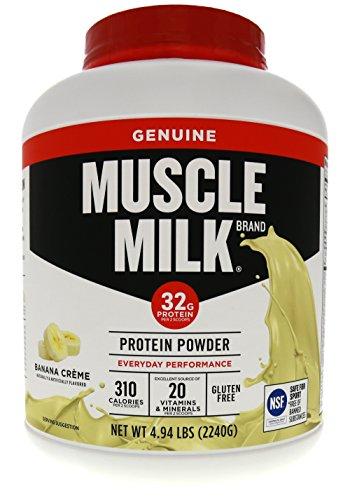 Anabolic Milk (CytoSport Muscle Milk - Banana Creme - 4.94 lb (2240 g))