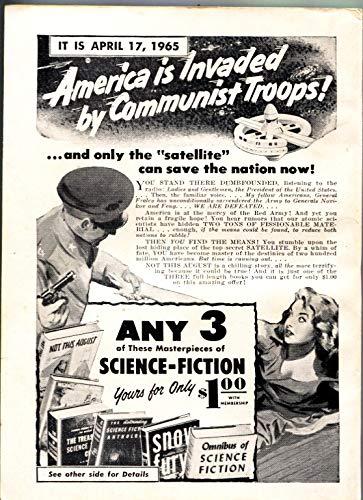 FANTASTIC UNIVERSE SCIENCE FICTION-Oct 1956-Pulp-HANNES BOK-Isaac Asimov
