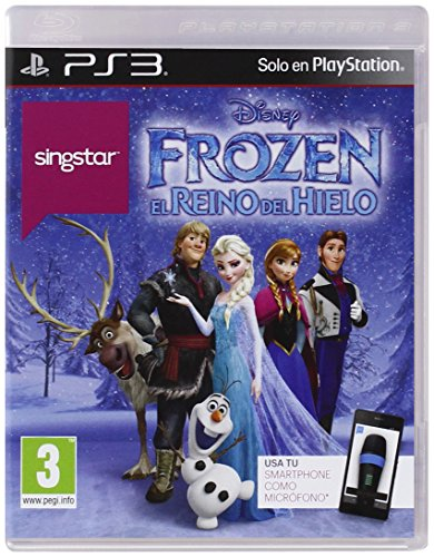 Singstar Frozen Sony Playstation3 Amazon Es Videojuegos