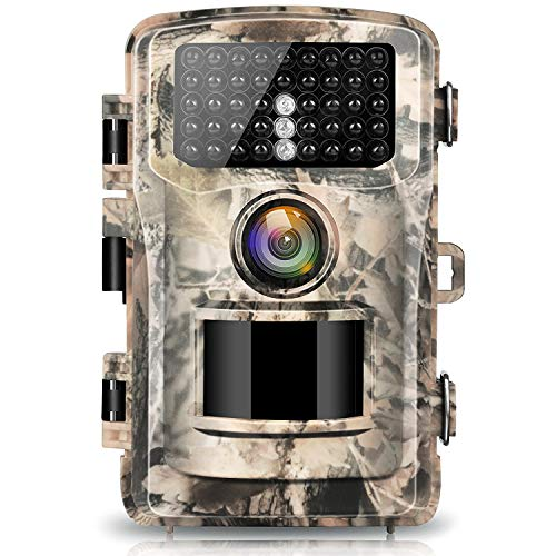 """Campark Trail Camera 16MP 1080P 2.0"""" LCD Game & Hunting Camera with 42pcs IR LEDs Infrared Night Vision up to 75ft/23m for Wildlife Scouting Digital Surveillance Waterproof IP56"""