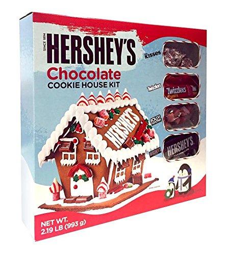 Hershey S Chocolate Christmas Cookie House Kit 5ive