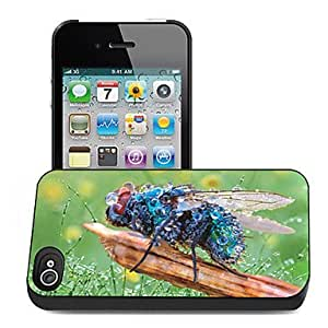 Bee Pattern 3D Effect Case for iPhone4/4S