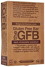 The GFB Gluten Free Bar - Dark Chocolate Coconut - 2.05 Ounces - 12 Pack