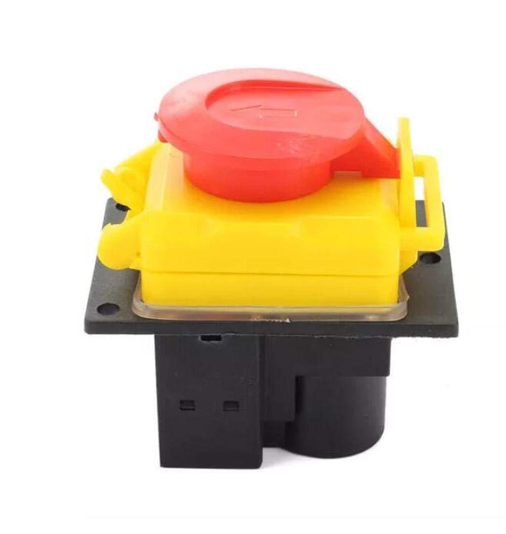 SUCAN 250V Universale DKLD DZ-6-2 15 Amp NVR Interruttore Di Arresto Di Emergenza Saftey Red Cut Off Killer