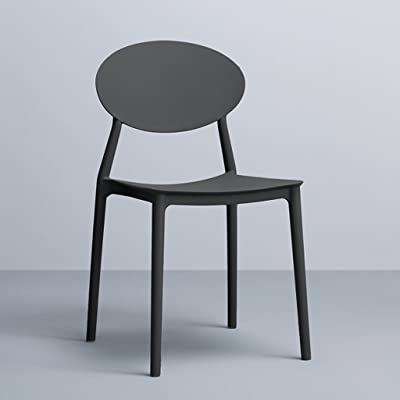Amazon Com Flash Furniture Ghost Chair With Arms In