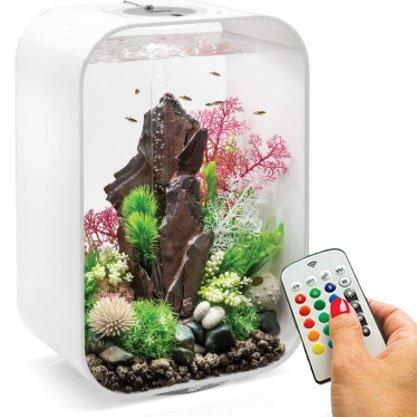 BiOrb Life 45 Liter White Aquarium with MCR Lighting