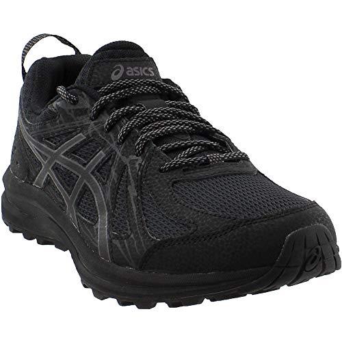 ASICS 1011A138 Men's Frequent Trail (4E) Running Shoe, Black/Carbon - 11 4E US
