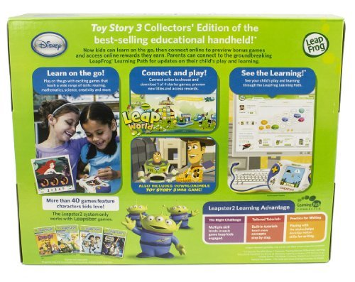 LeapFrog Leapster 2 Learning System With Downloadable Disney-Pixar Toy Story 3 Game by LeapFrog (Image #2)