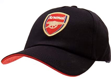 c9be57ea4c609 Amazon.com   Arsenal FC Navy Blue Baseball Cap with Team Crest in ...