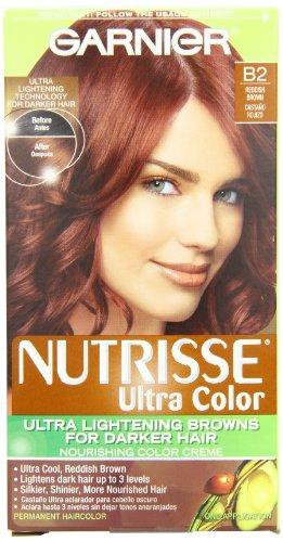 Garnier Nutrisse coloration, B2 brun rougeâtre