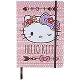 Caderneta de Anotação Hello Kitty Purple Lace, Urban, Rosa
