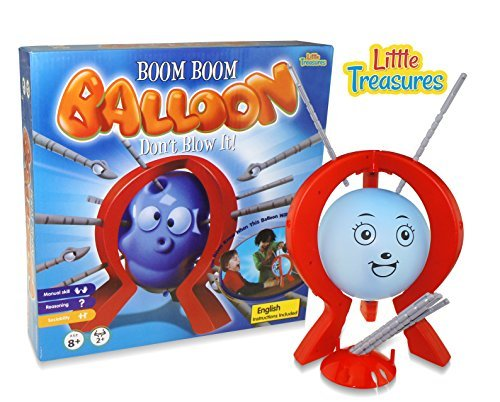 Little Treasures Bang Boom Balloon Poking Game, Poke It Till You Hear The klick, But Don't Be The Player to Pop It! A Fun Entreating Kids Game.