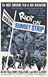 Riot on Sunset Strip Poster Movie 11x17 Aldo Ray Mimsy Farmer Michael Evans Laurie Mock