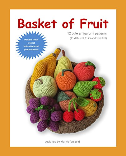 Different Fruit - Basket of Fruit: 11 different fruits and 1 basket