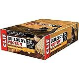 CLIF BUILDER'S - Protein Bar - Crunchy Peanut Butter - (68 Gram Non-GMO Bar, 12 Count)