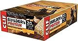 CLIF BUILDER'S - Protein Bars - Crunchy Peanut Butter - (68 Gram Non-GMO Bars, 12 Count)