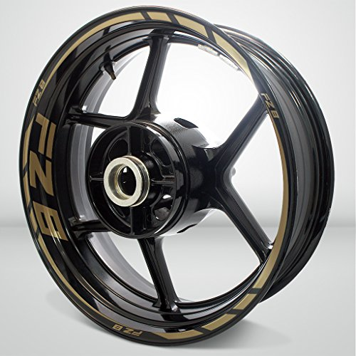 Gold Motorcycle Wheels - 8