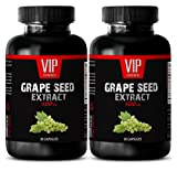 Product review for Antioxidant anti aging - GRAPE SEED EXTRACT 100mg - Grape extract - 2 Bottles 60 Capsules