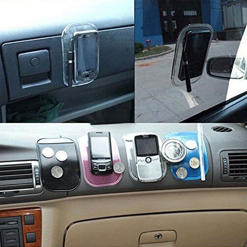 I-Sonite Non-Slip Car Mat Anti Slide Dashboard Sticky PAD Car Holder for Intex Aqua Xtreme II