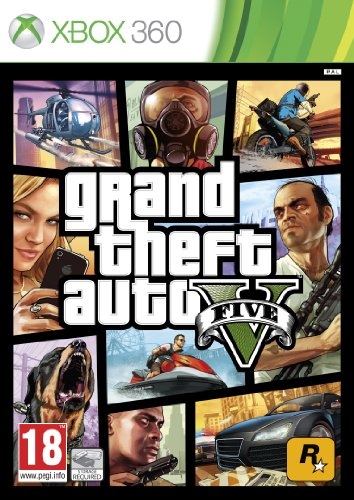 Take 2 GTA V Grand Theft Auto 5 Xbox 360