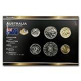 AU Australia 6-Coin Set 5 Cents - 2 Dollars BU Brilliant Uncirculated