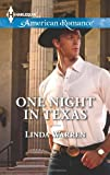 One Night in Texas, Linda Warren, 037375518X