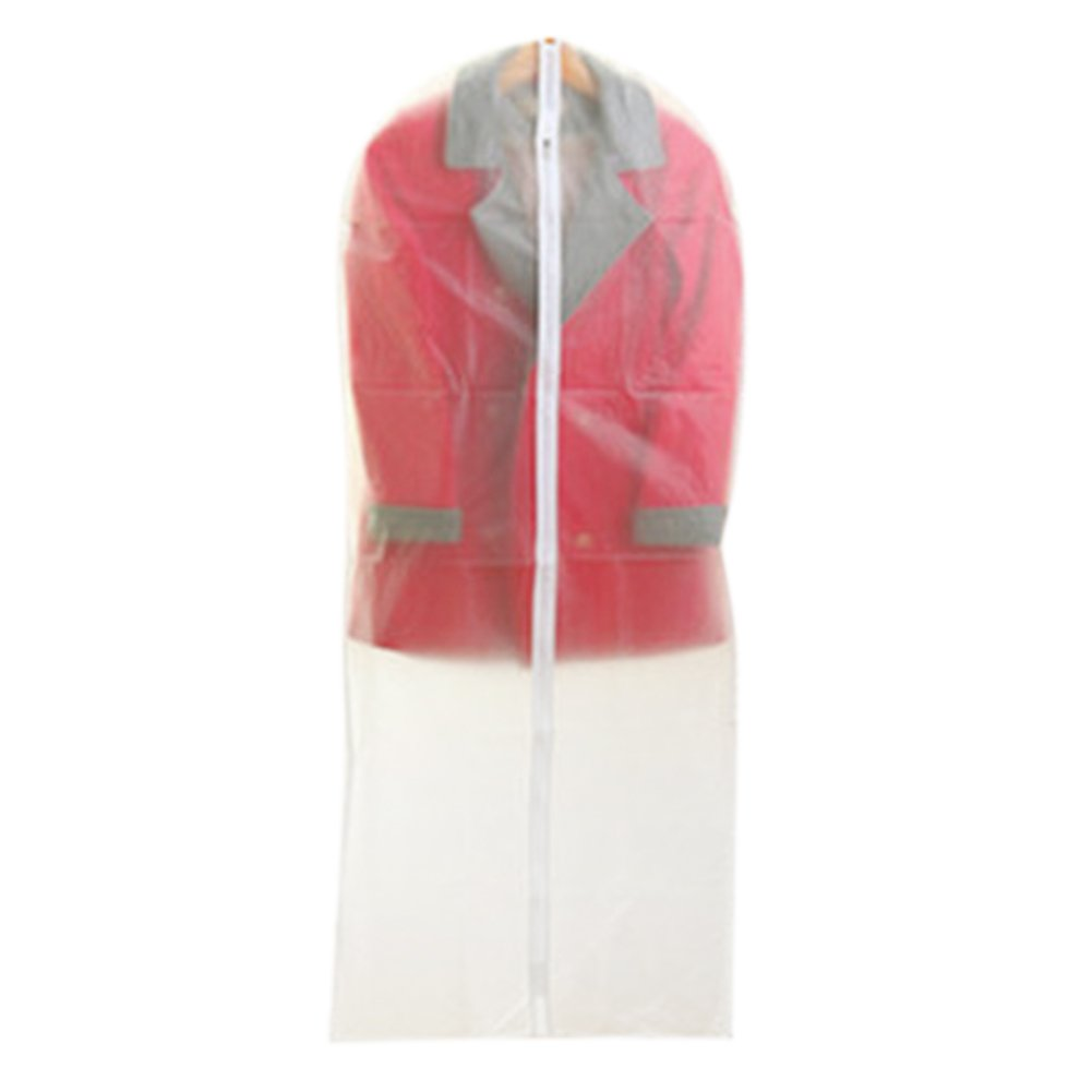 Aspire weiß transluzent Kleidersack für Anzug, Kleid und Mantel, 5 Größen erhältlich XL B01BDBTCY4 Kleiderscke