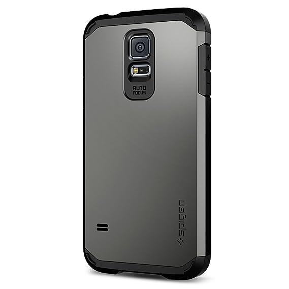 separation shoes 900ac 41cfb Spigen Galaxy S5 Case Tough Armor Series (Gunmetal) (SGP10762)