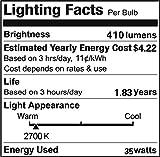 Vstar G8 120V 35W Halogen Light Bulbs(10 Pcs)