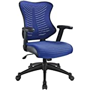 Modern Contemporary Office Chair Blue