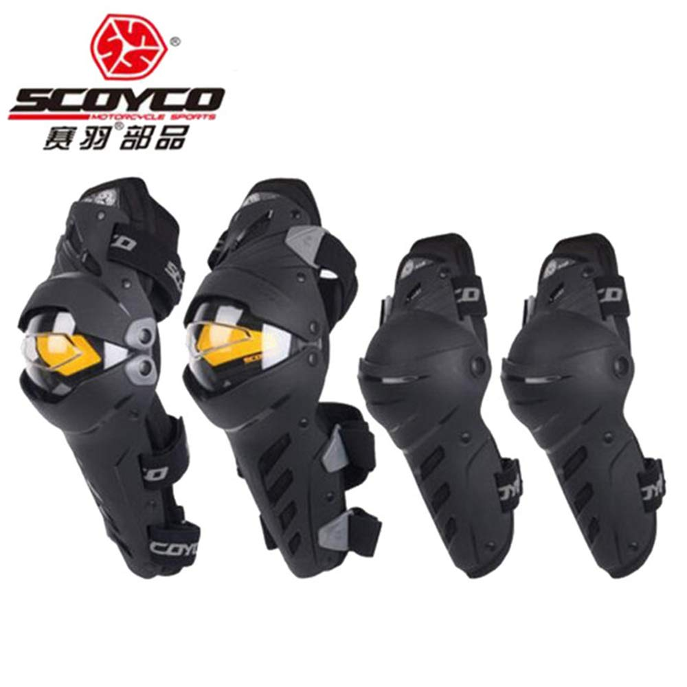 SCOYCO k17h17 Motocross Knee Pads Motorcycle Knee Protector And Elbow Protector Outdoor Sports Motorcycle Equipment