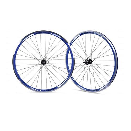 Vuelta ZeroLite Track Comp 700C Wheel Set (Blue)
