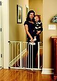 Regalo Easy Step Walk Thru Gate, White, Pet Baby Child Toddler Safety, New