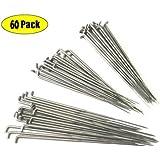 Z-COLOR 60 Pieces 79mm 86mm 91mm Felting Needles DIY Wool PIN Felting Tools Kits Medium--Each Sizes OF 20PCS