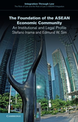 The Foundation of the ASEAN Economic Community: An Institutional and Legal Profile (Integration through Law:The Role of Law and the Rule of Law in ASEAN Integration)