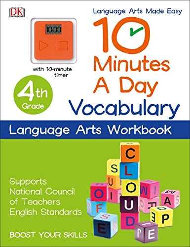 10 Minutes a Day: Vocabulary, Fourth Grade [DK Publishing] (Tapa Blanda)