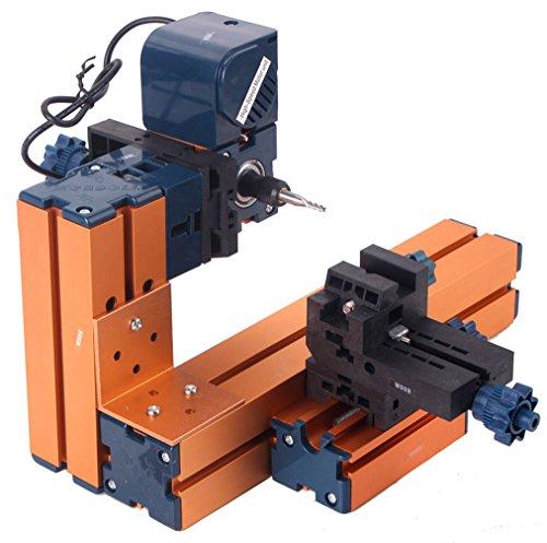 SUNWIN Mini Milling Machine DIY Machinery Power Tool for Student Hobby Model Making