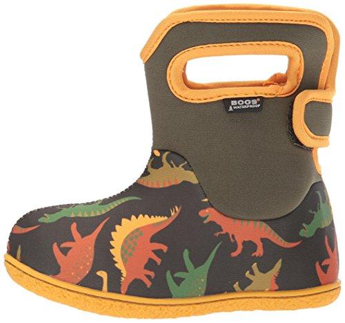 Bogs Bogs Wellies Dino Moss Baby Boys Print Waterproof Multi Dino 6PB6Aqr
