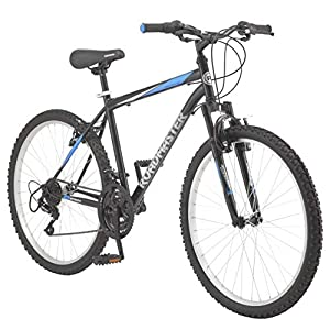 Roadmaster – 26 Inches Granite Peak Men's Mountain Bike, Black/Blue