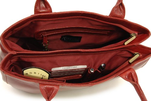 Catwalk Totes Kensington Womens Collection Red Handbags 11q08wT